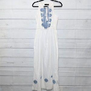 Isabel Marant Beaded Halter Maxi Dress G4